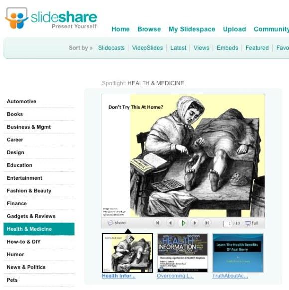 peter featured on slideshare