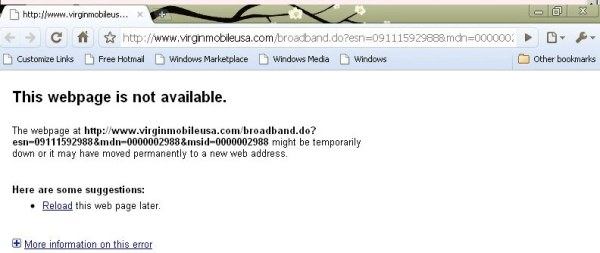 Virgin Activate Fail