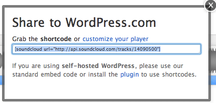Embedding Audio Files In A WordPress com Blog - WiredPen