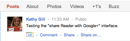 google reader share fail