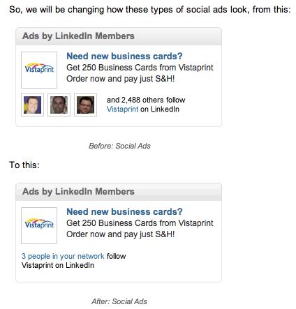 LinkedIn Social Ads