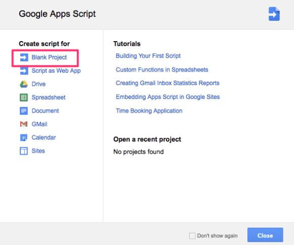 Google Apps Scripts