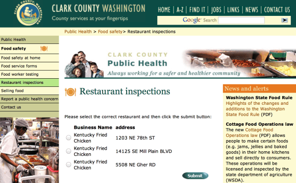 Clark County Public Health Dept