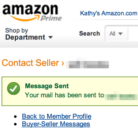 Amazon interface feature request : from the SuggestionBox