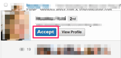 Edited LinkedIn Invitation