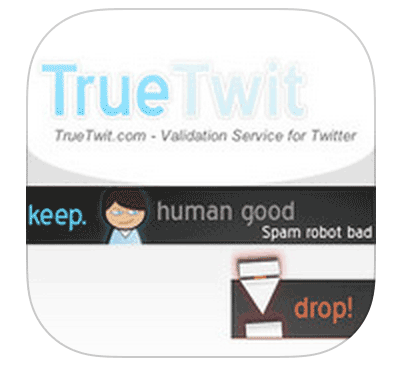 TrueTwit for spam control?