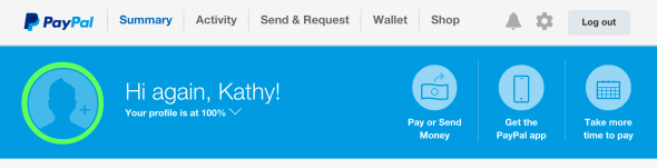 Tip: can't log in to PayPal from iPad /iPhone apps