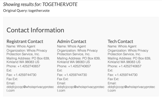 together.vote WHOIS