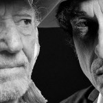 Willie Nelson, Bob Dylan, composite