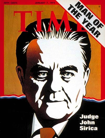 TIME Man of the Year The Watergate Judge