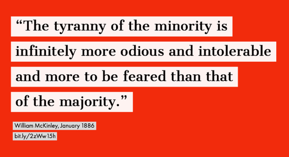 Tyranny of the minority: the men on the Supreme Court