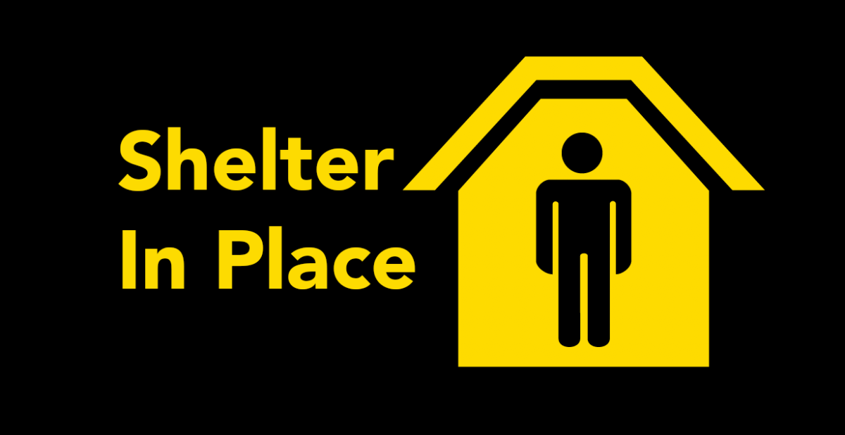 shelter in place alert
