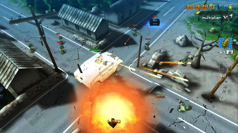 An epic bite-sized arcade shooter