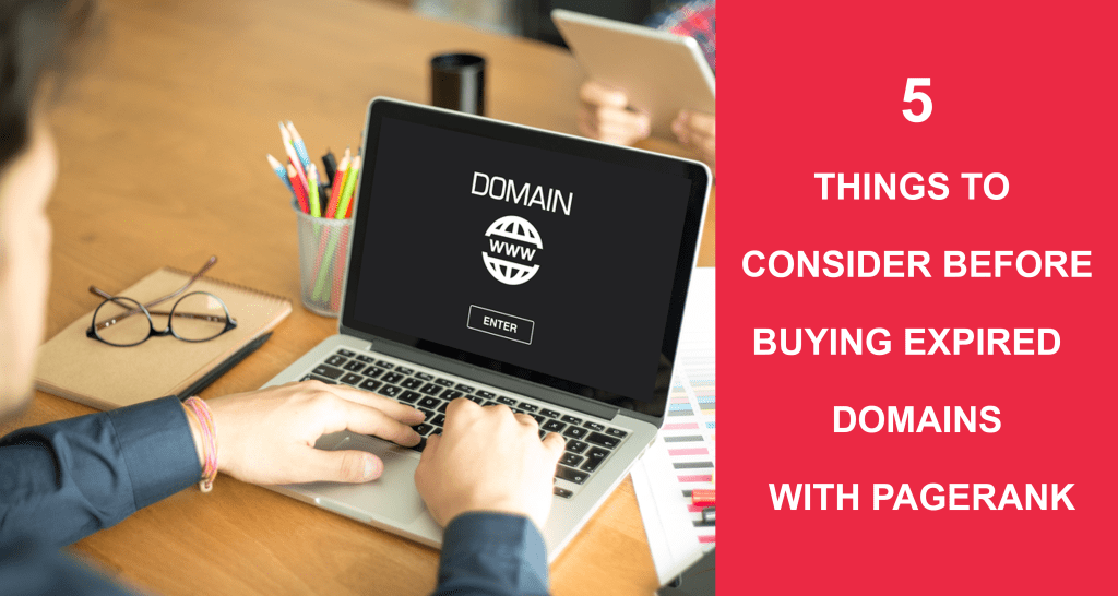 5 Things To Consider Before Buying Expired Domains With PageRank