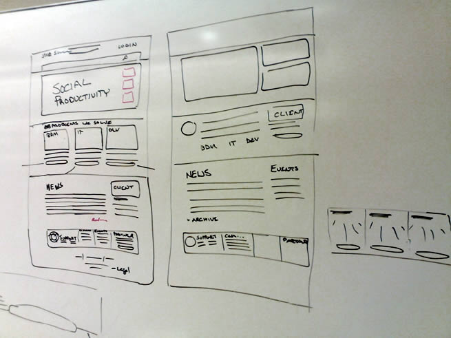 Wireframes Magazine      agility Whiteboard Wireframes