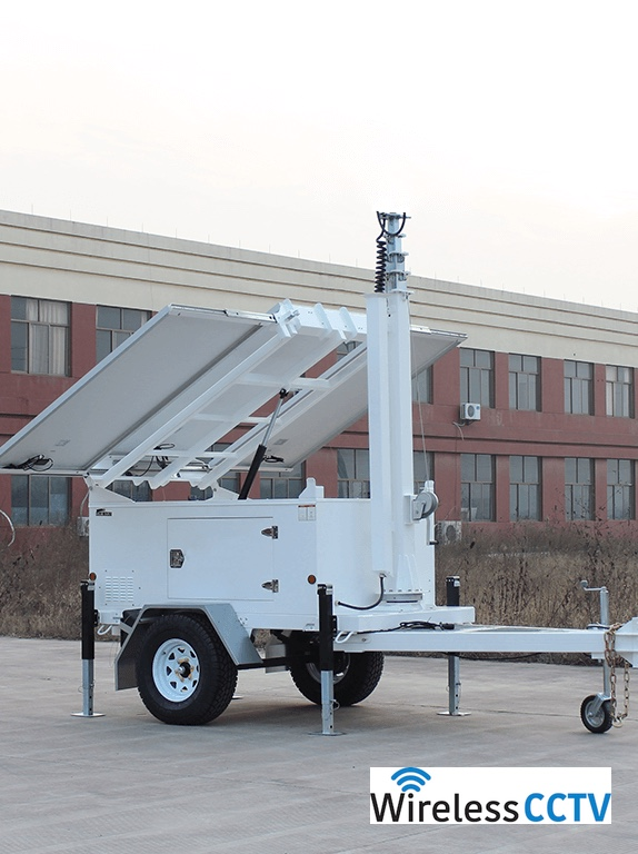 Wind Power Mobile Solar And Trailer