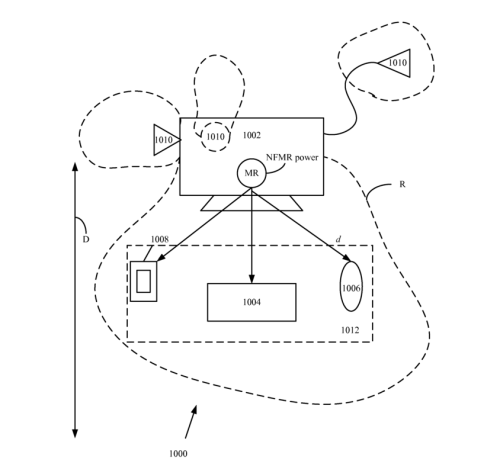 Wireless power utilization in a local computing environment  US 8598747 B2