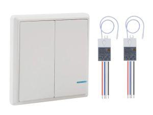 double wireless switch
