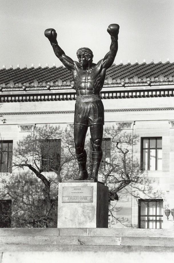 La estatua de Rocky
