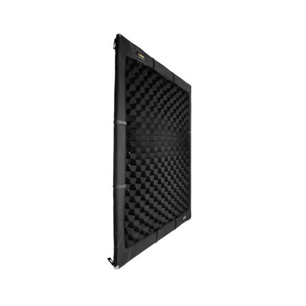 Soft Egg Crate by Honeycrates - 50° Overhead, Wrap Around Style - Side View