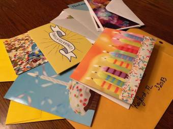Greeting Cards Collected for Florida Death Row Inmates