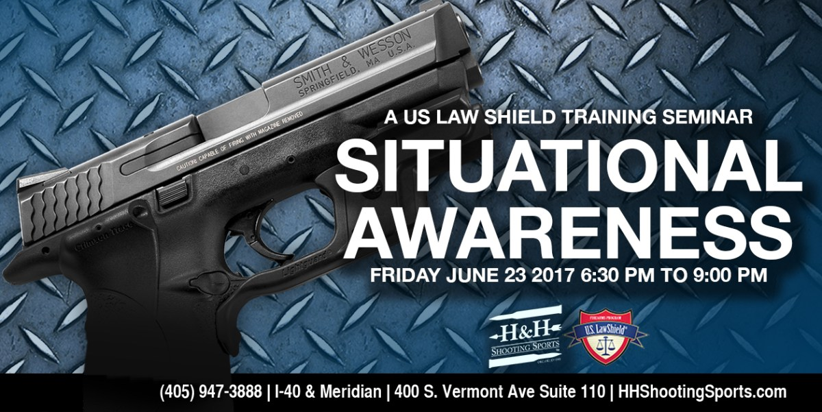 Attend a FREE U.S. Law Shield seminar at H&H!