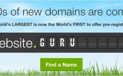 New Domain Names