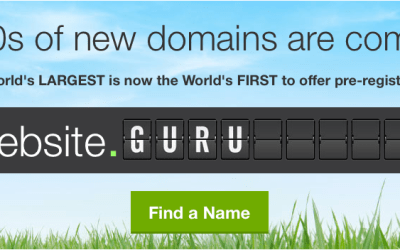 New Domain Names