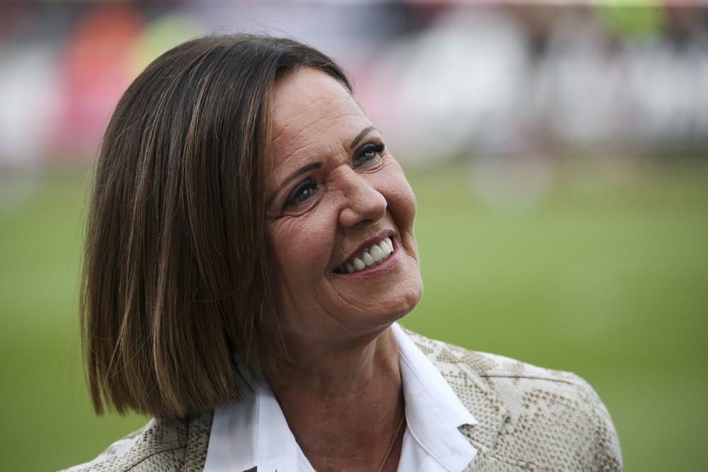 Hartberg-Präsidentin Brigitte Annerl