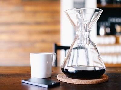 Kaffeekaraffe, Karaffe für Heißgetränke wie Kaffee, Tee oder Glühwein.