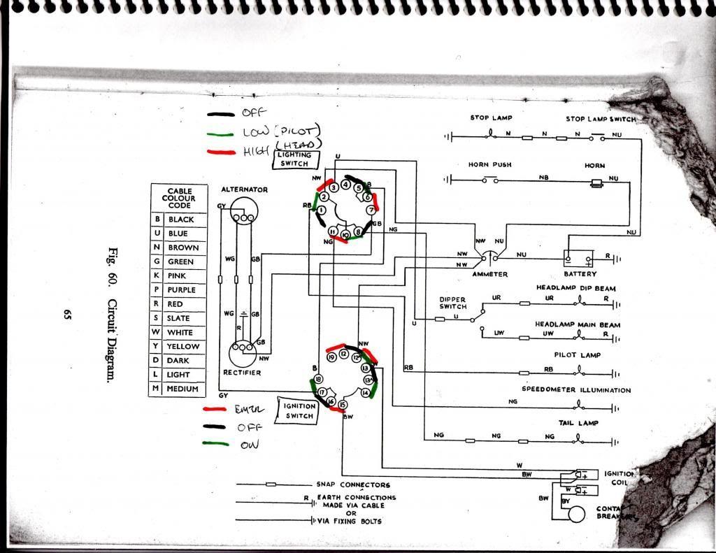 Bsa Lightning Wiring Diagram