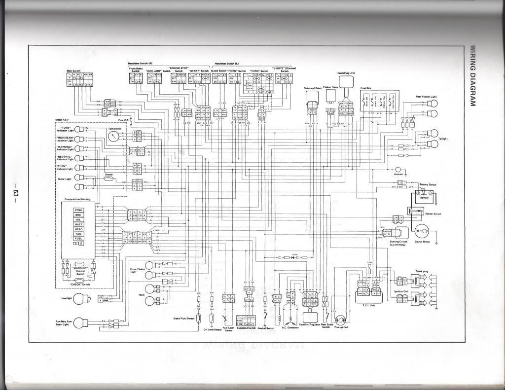 Yamaha Xj750 Seca Wiring Diagram