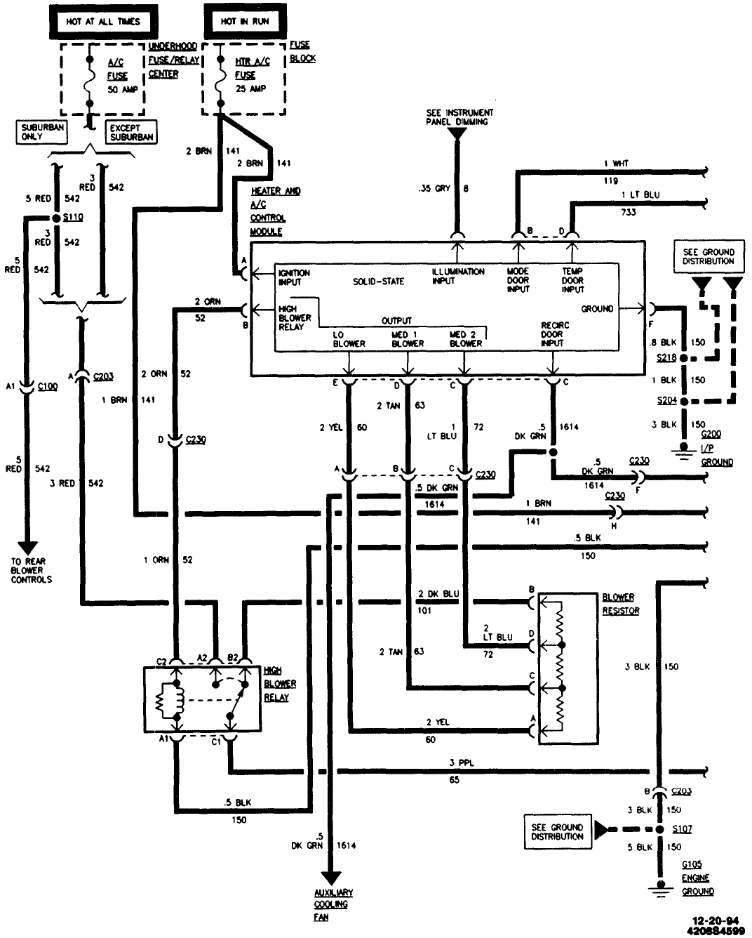 Gmt400 Blower Motor Wiring Diagram