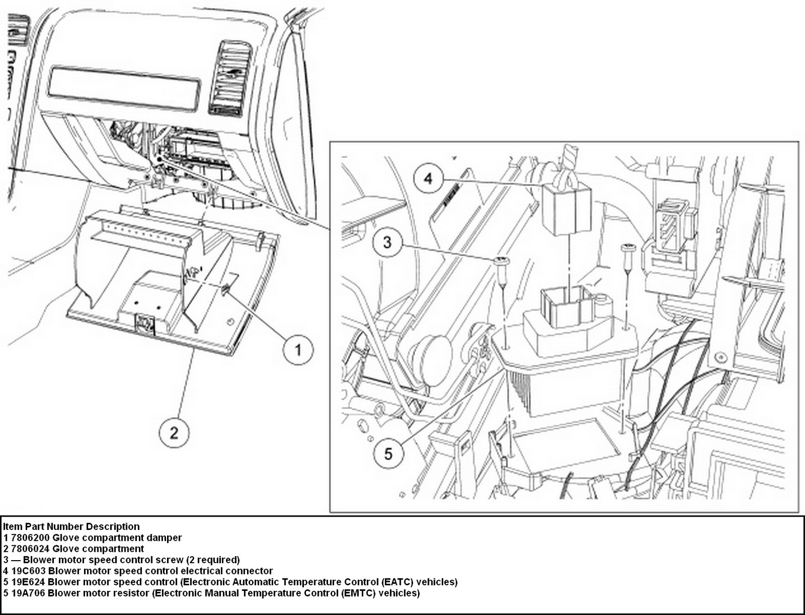 Ford Fusion Blower Motor Resistor Wiring Diagram