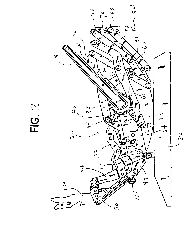 Flexsteel Recliner Mechanism Diagram