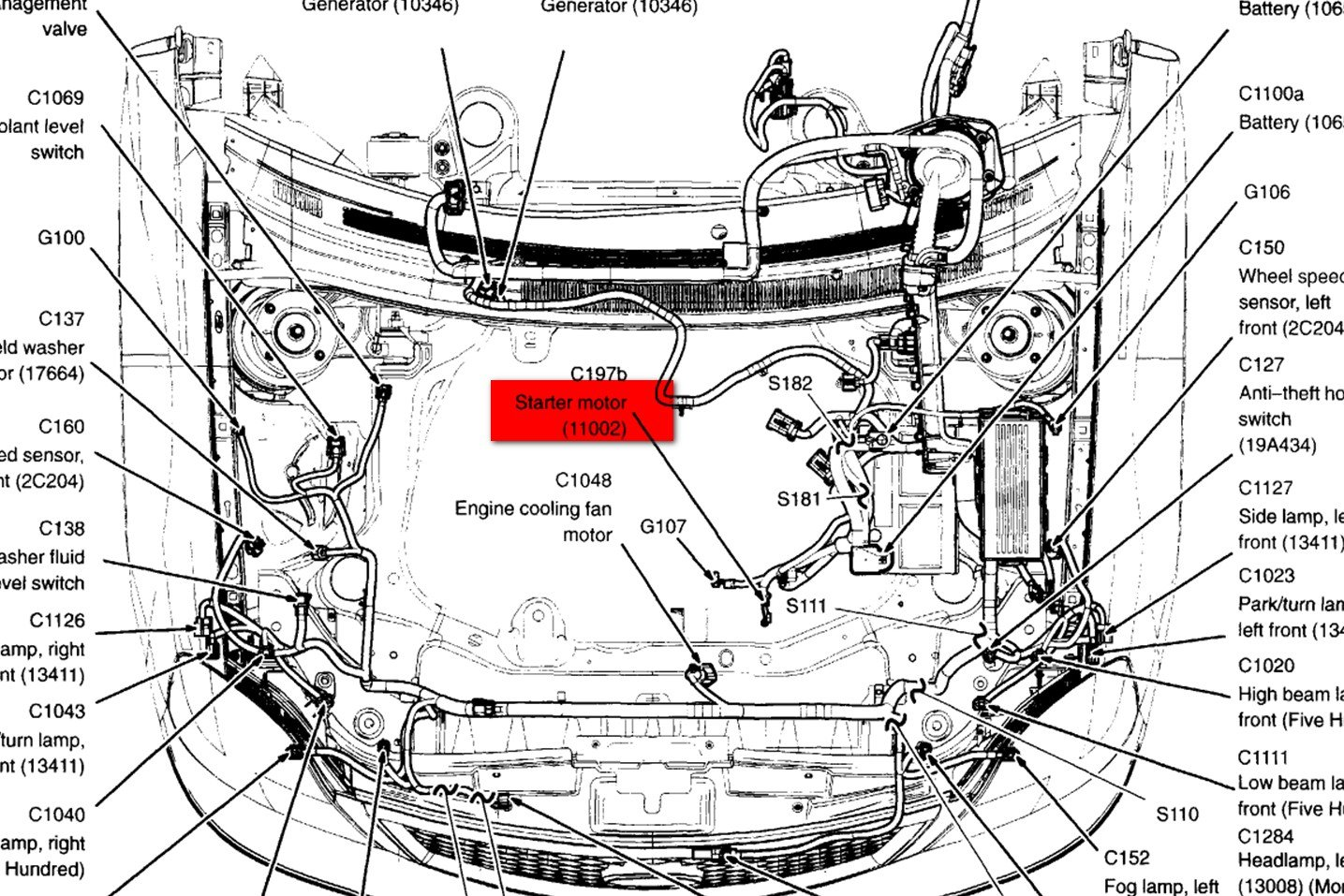 Ford Focus Undercarriage Diagram