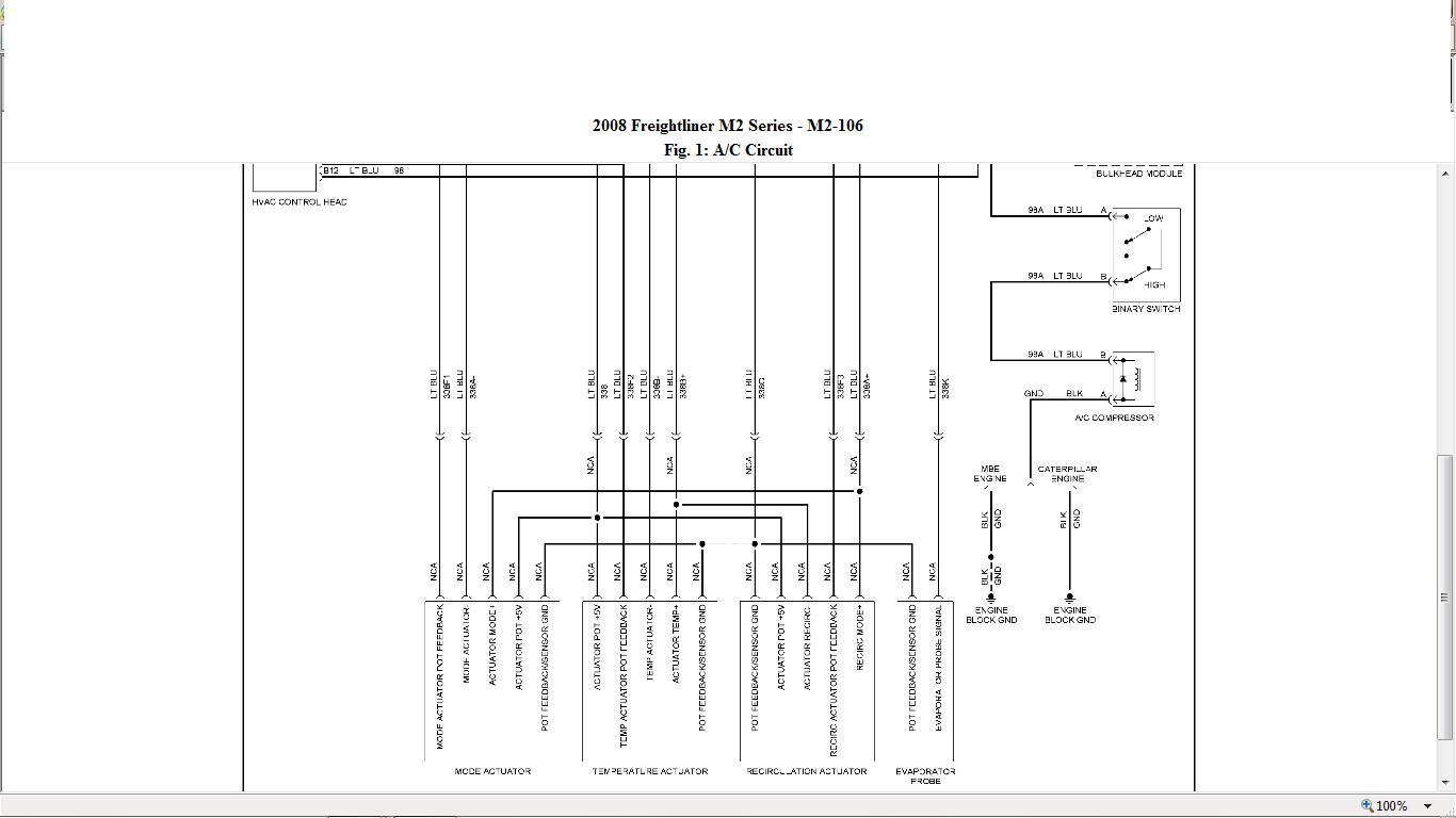 Freightliner M2 Amu Diagram
