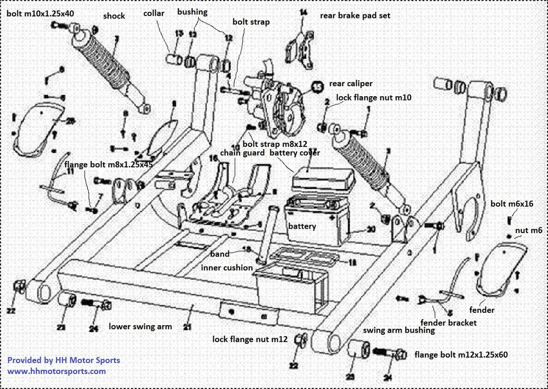 250 Go Kart Wiring Diagram