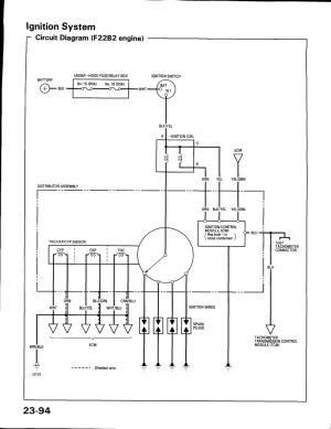 Honda B16a2 Distributor Wiring Diagram