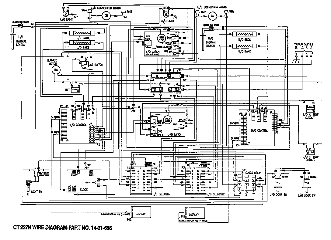 Need A Wiring Diagram For The Timer Hookup On A Kenmore