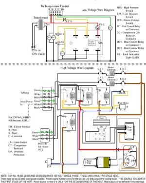 Packard C230b Wiring Diagram