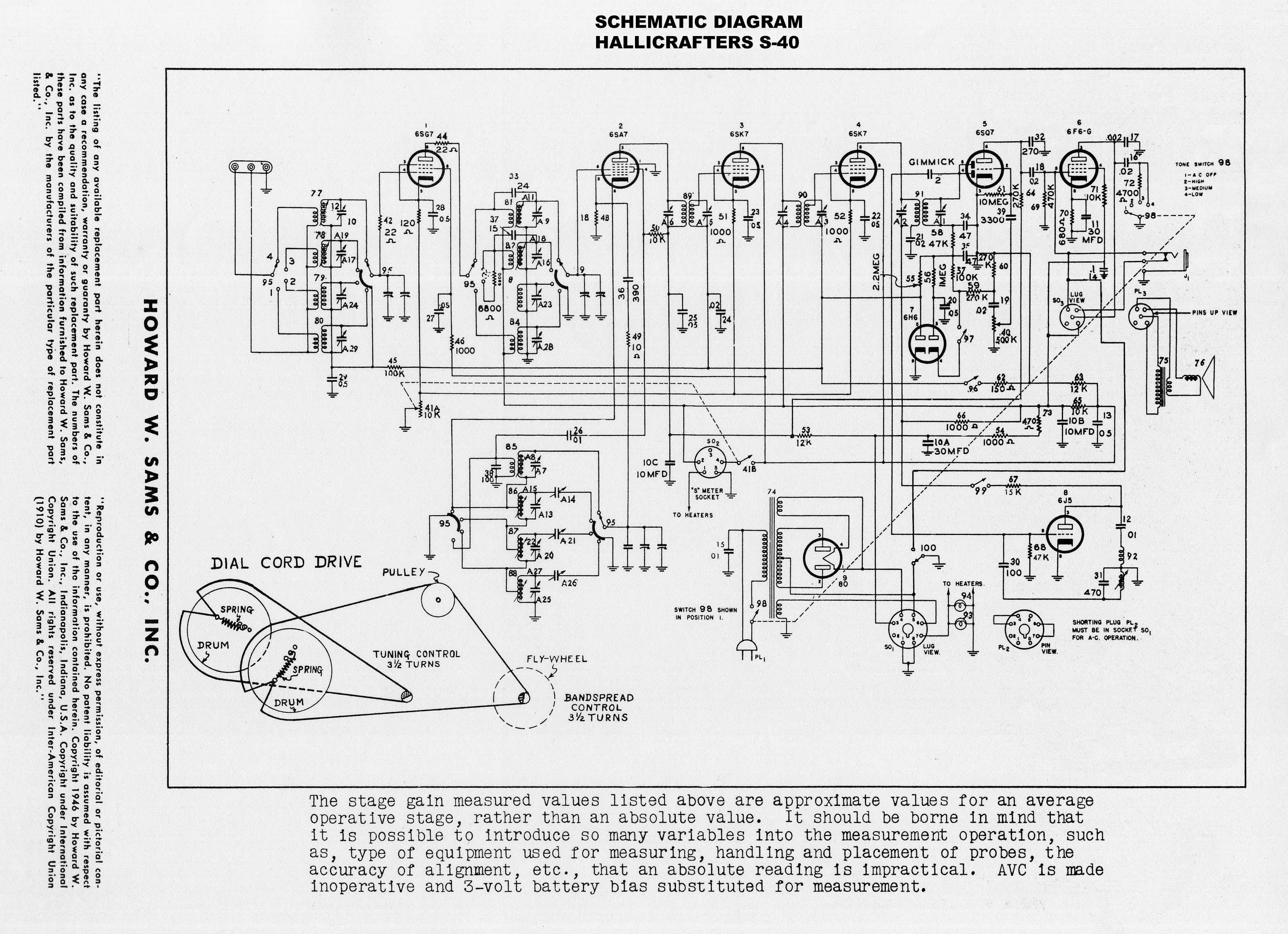 Philco El 117 Wiring Diagram