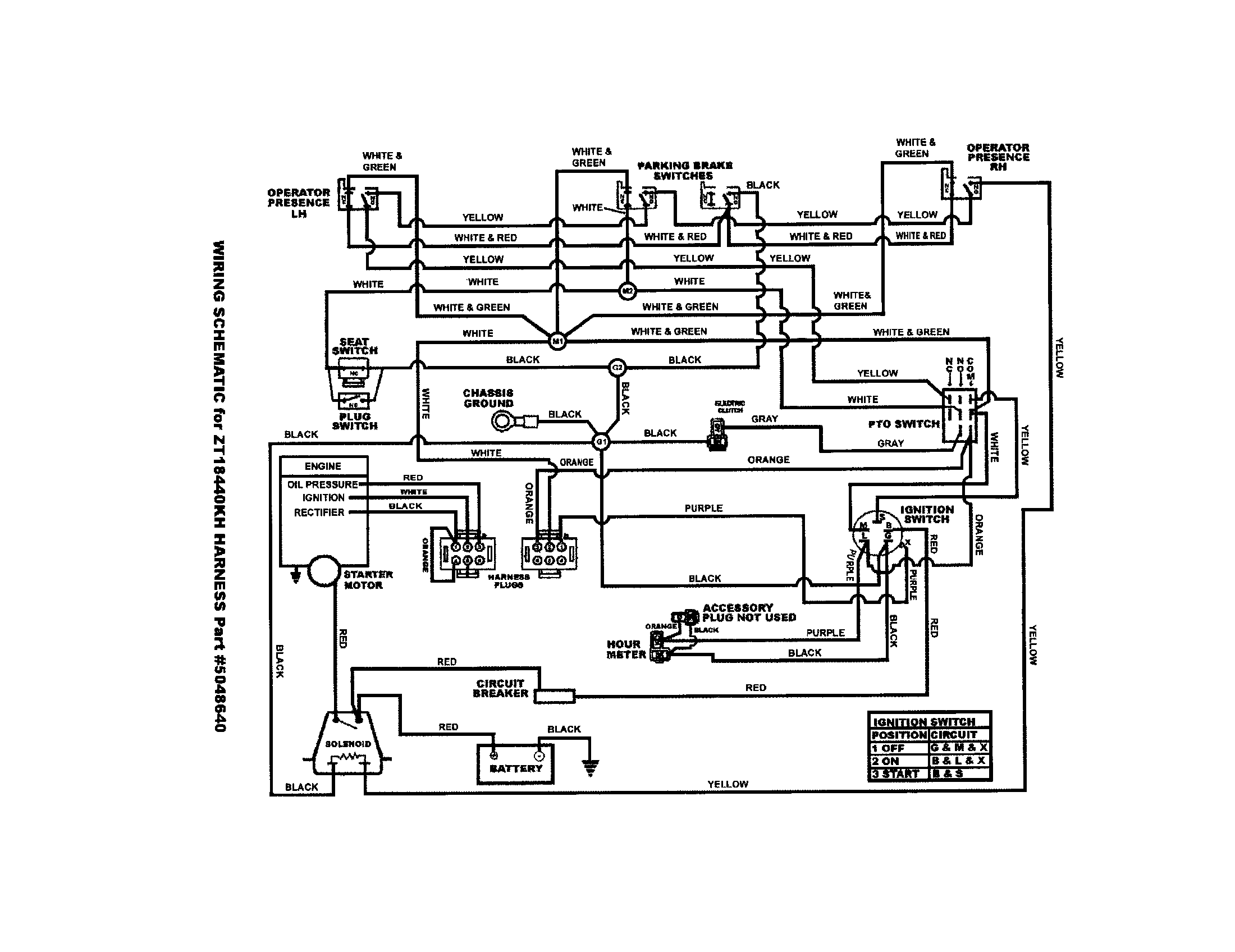 Simplicity Broadmoor Electrical Wiring Diagram