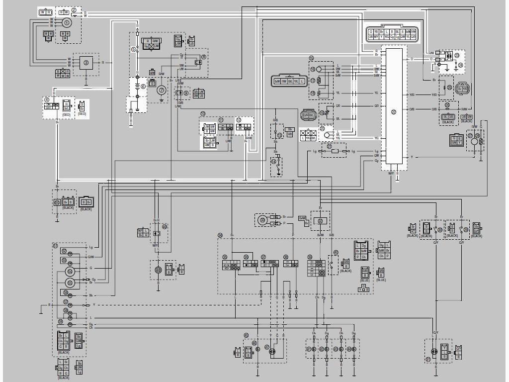 Skema Kelistrikan Honda Grand Wiring Diagram