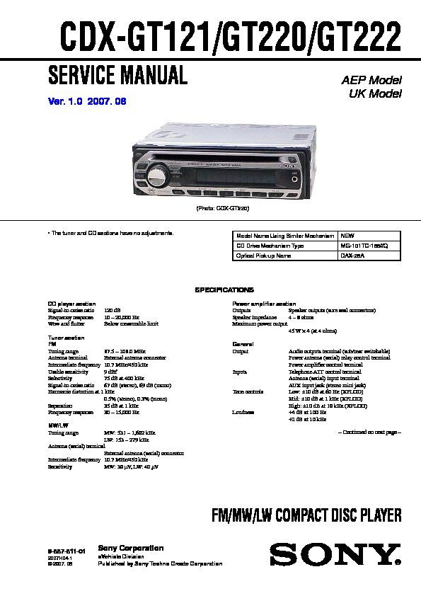 diagram sony cdx gt110 wiring diagram full version hd