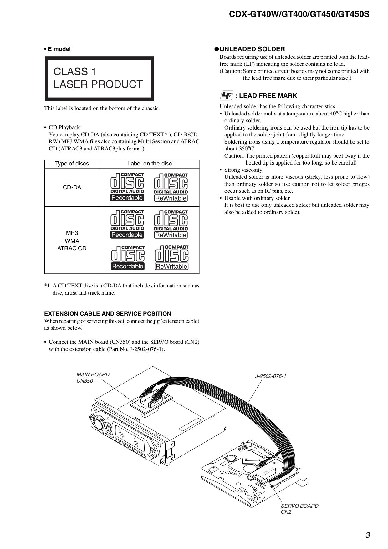 Sony Xplod Cdx Gt55uiw Wiring Diagram
