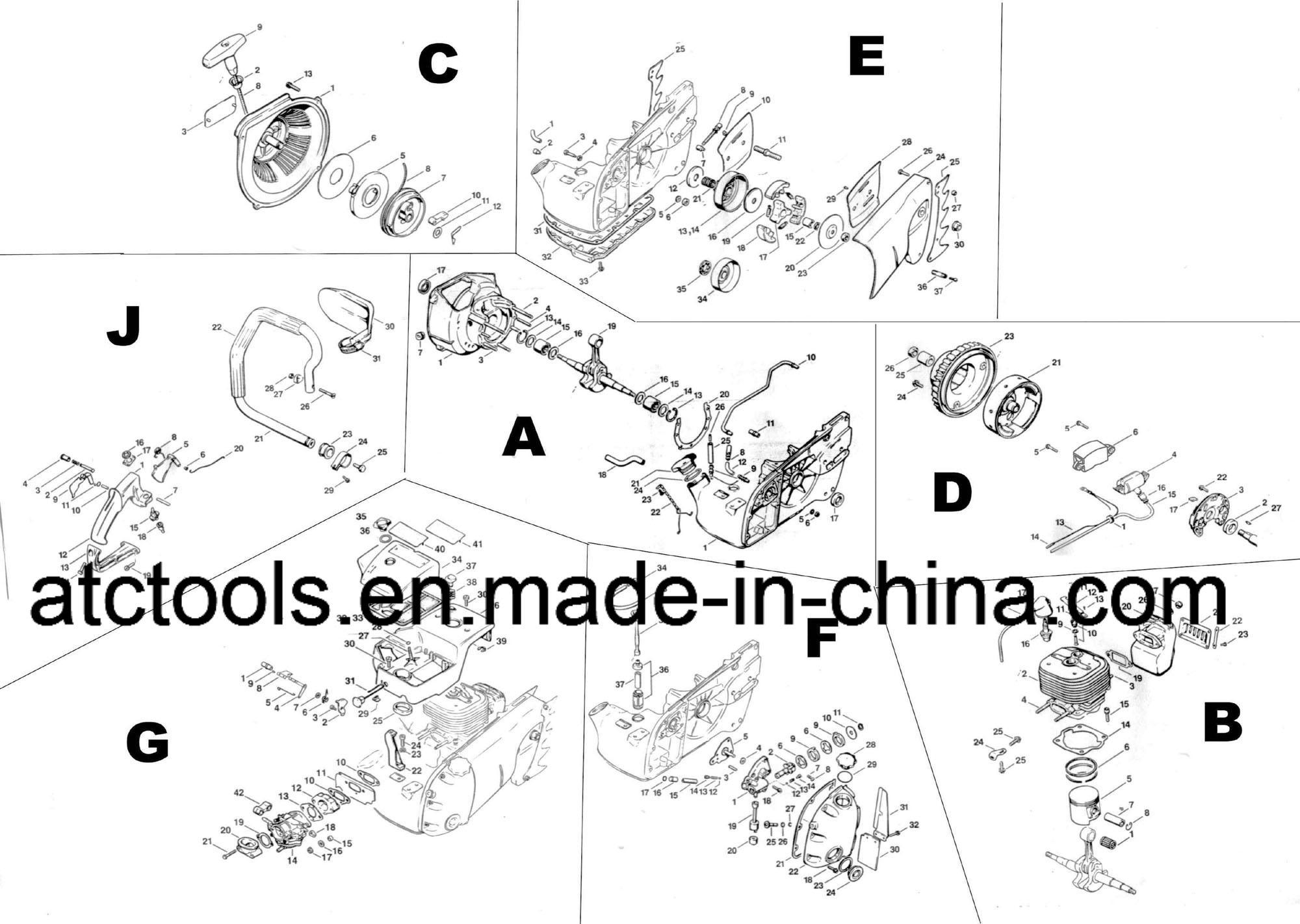 Stihl 038 Magnum Parts Diagram