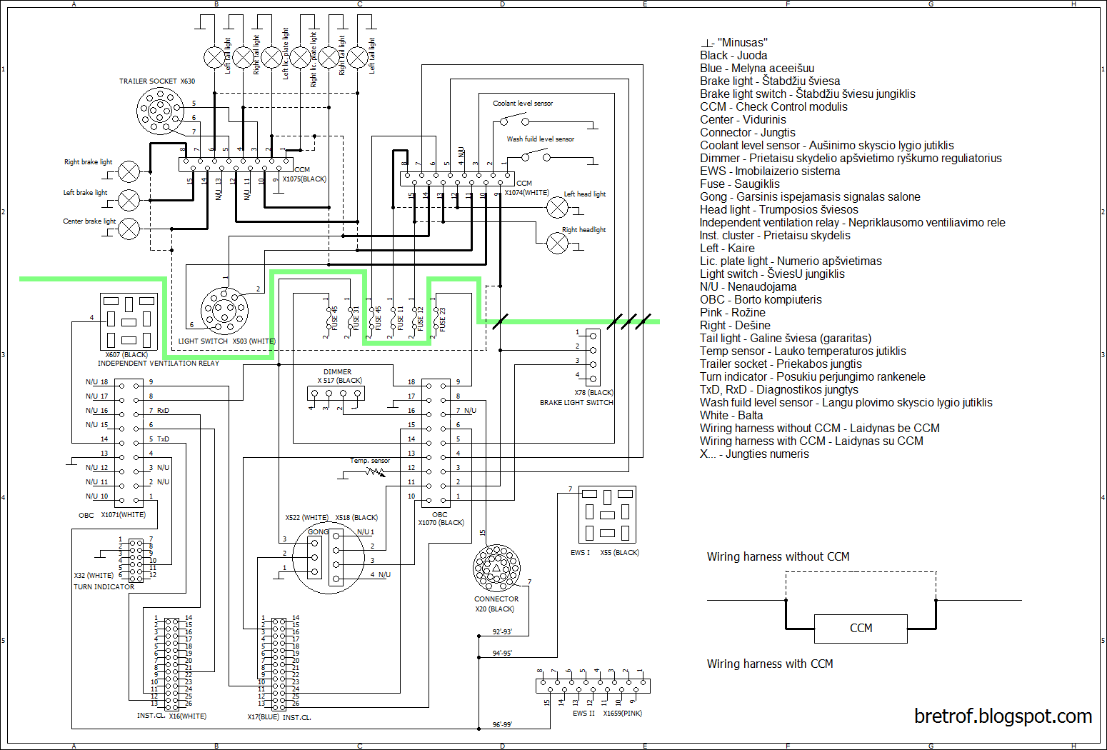 Wiring Diagram Bmw M3 Alpine Alarm
