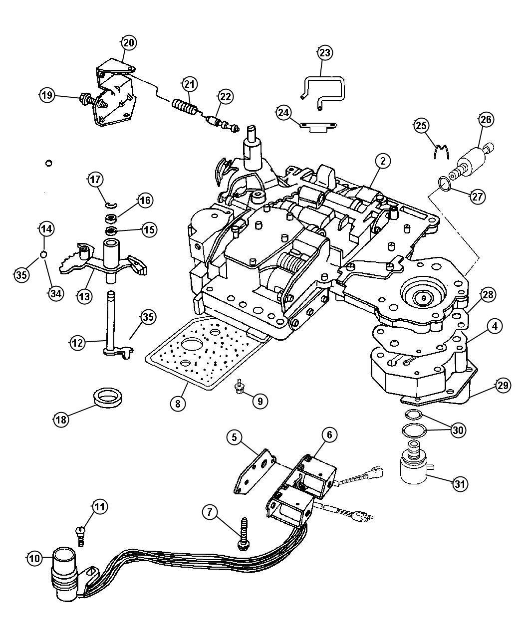 Wiring Diagram 46re Transmission