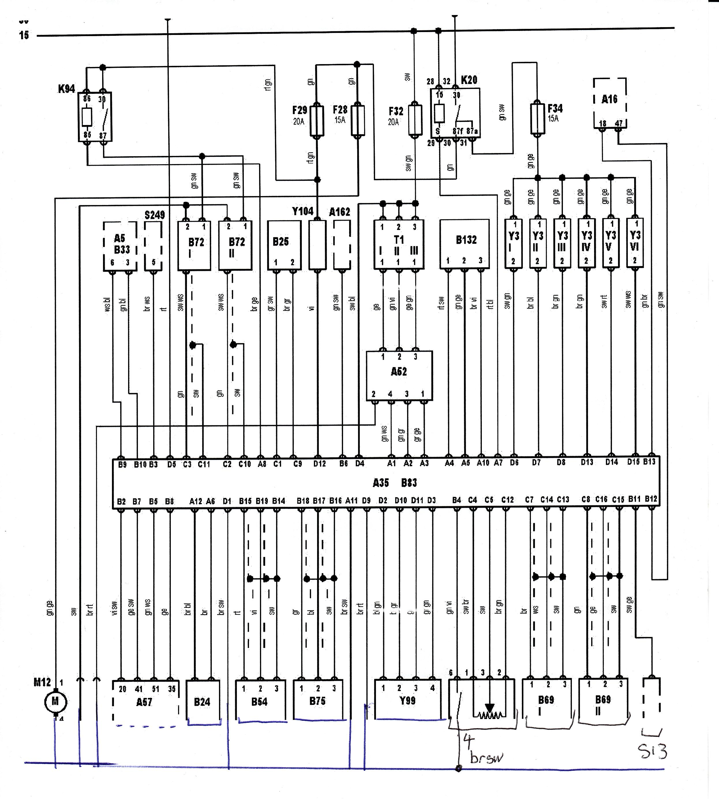 Wiring Diagram Ecu B5 S4